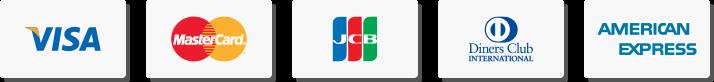 世界5台ブランド|VISA/Master/JCB/DinersClub/AmericanExpress